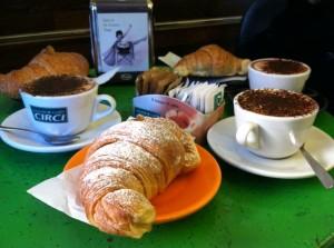 La colazione a Roma