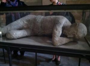 Un uomo da Pompeii.