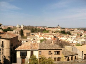 The view from the Mosque in Toledo