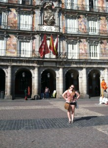Plaza Mayor in Madrid.
