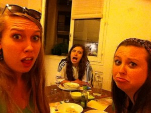 This is what our faces looked like after being lost in Paris for six hours.