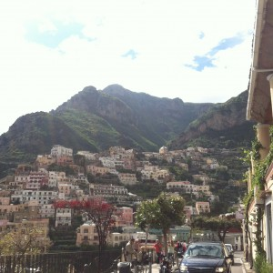 Positano is beautiful.