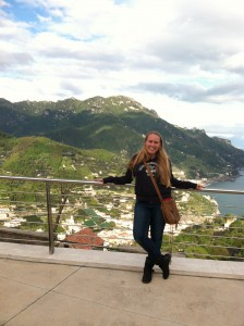Looking over Ravello